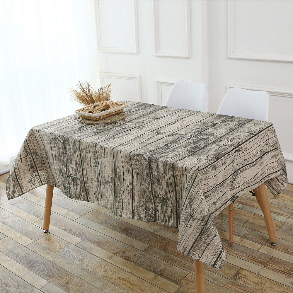 Original Wood Texture Tablecloth - WOOD W55 INCH * L78 INCH