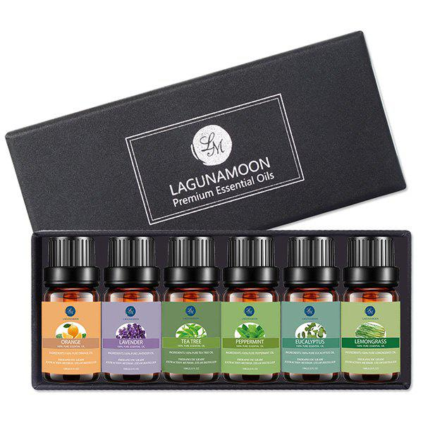 6Pcs Premium Therapeutic Natural Aromatherapy Oil Set brand new s262dc b32 6pcs set with free dhl ems
