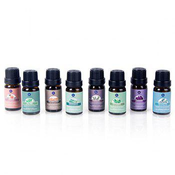 8Pcs Natural Aromatherapy Essential Oil Set -  BLACK