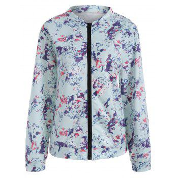 Long Sleeve Floral Jacket - BREEZY L