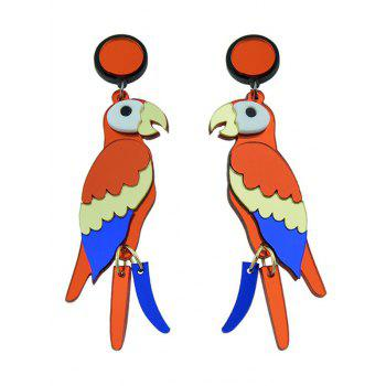 Parrot Bird Drop Earrings - COLORMIX COLORMIX
