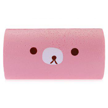 Soft Cake Roll Stress Relief Squishy Toy - PINK