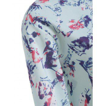 Long Sleeve Floral Jacket - BREEZY BREEZY