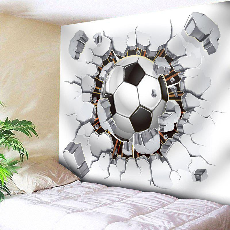 Football Printed Wall Hanging Sport Tapestry outer space printed wall hanging tapestry