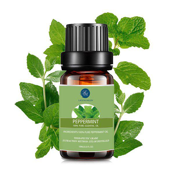 10ml Premium Therapeutic Peppermint Essential Oil, Green