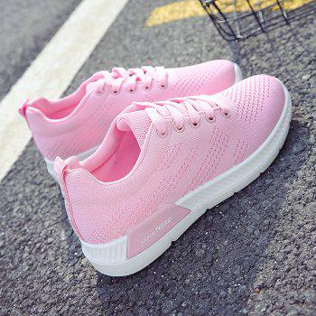 Breathable Hollow Out Mesh Sneakers - 38 38