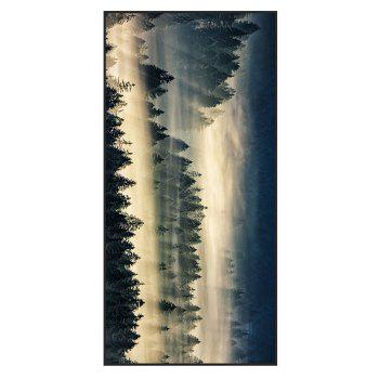 Fog Forest Printed Polyester Bath Towel