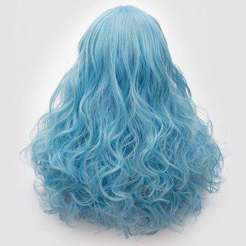 Long Middle Part Fluffy Layered Wavy Cosplay Lolita Wig -  CLOUDY
