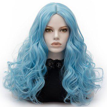 Long Middle Part Fluffy Layered Wavy Cosplay Lolita Wig - CLOUDY CLOUDY