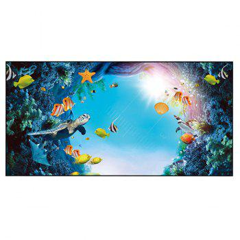 Sea World Printed Polyester Bath Towel - W15.5 INCH * L67 INCH W15.5 INCH * L67 INCH