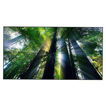 Forest Tree Printed Polyester Bath Towel - GREEN GREEN