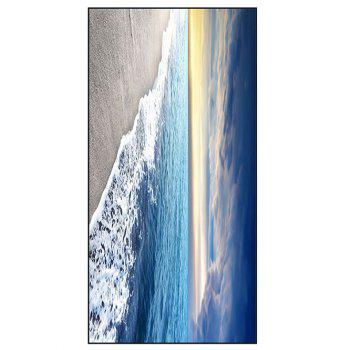 Soft Polyester Sea Beach Print Bath Towel