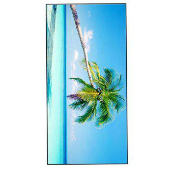 Polyester Comfortable Coconut Palm Bath Towel