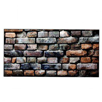 Brick Wall Print Polyester Soft Bath Towel - COLORMIX COLORMIX