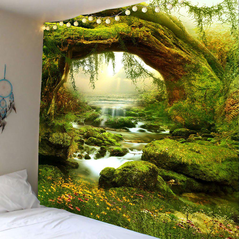 Wall Hanging Forest Streams Print Tapestry streams of stream classifications