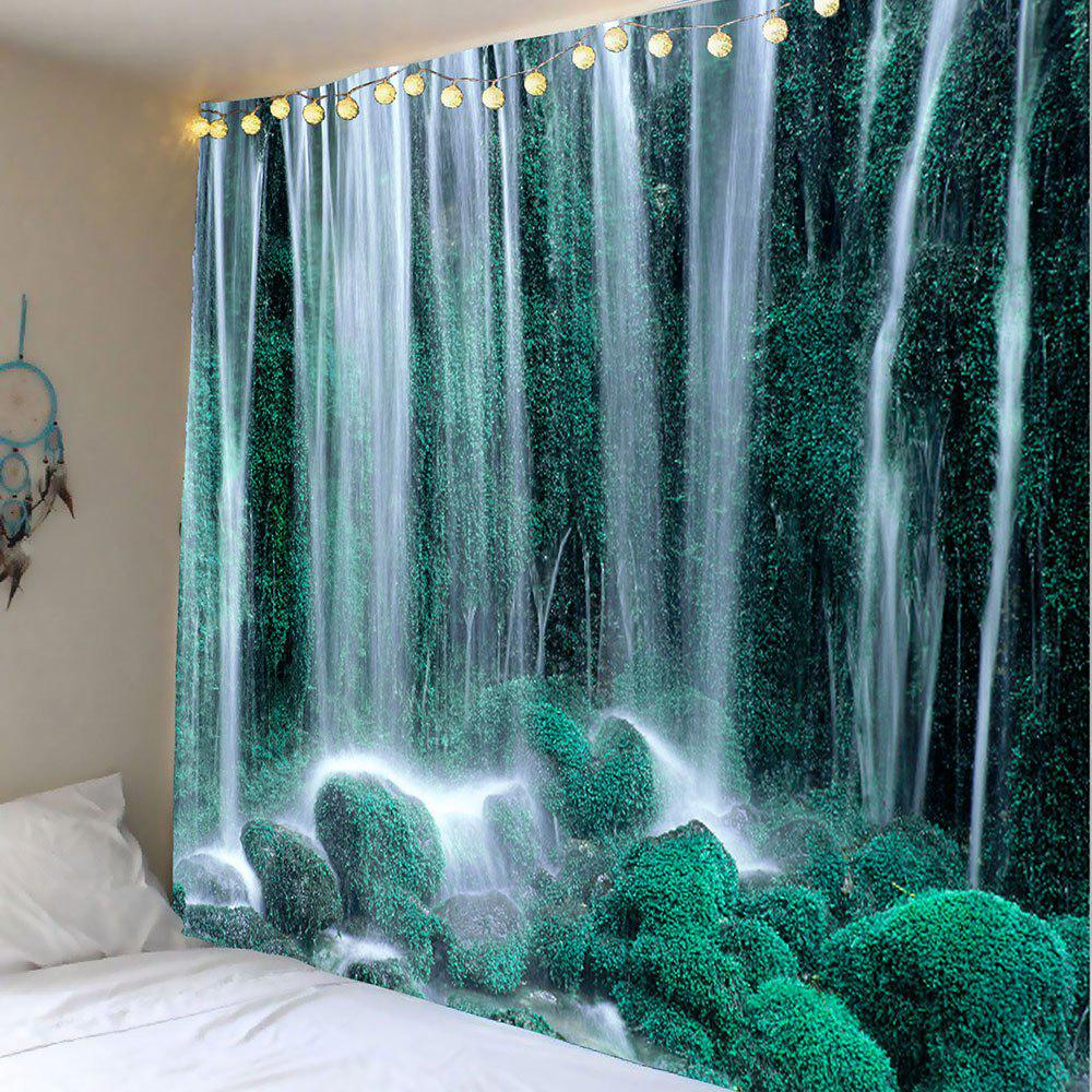 Waterfall Trees Pattern Wall Hanging Tapestry flame trees of thika