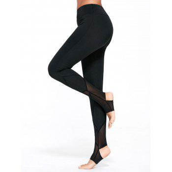 High Waist Yoga Stirrup Leggings