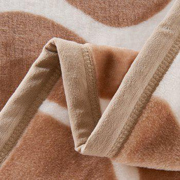 Giraffe Grain Imprimé Chambre Lit Throw Blanket - Girafe EURO KING