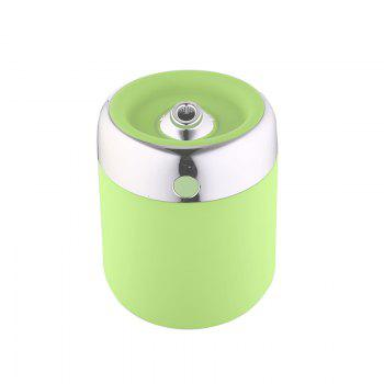 Oblique Hole Humidifier With Color Changing LED Light -  GREEN