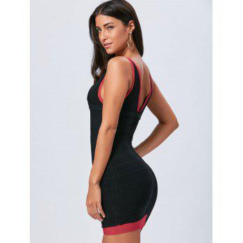Robe en bandoulière Body Neck - Noir M