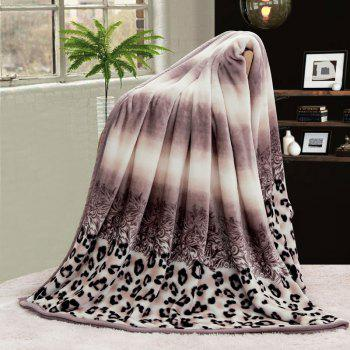 Leopard Printed Bedroom Throw Blanket - COLORMIX COLORMIX
