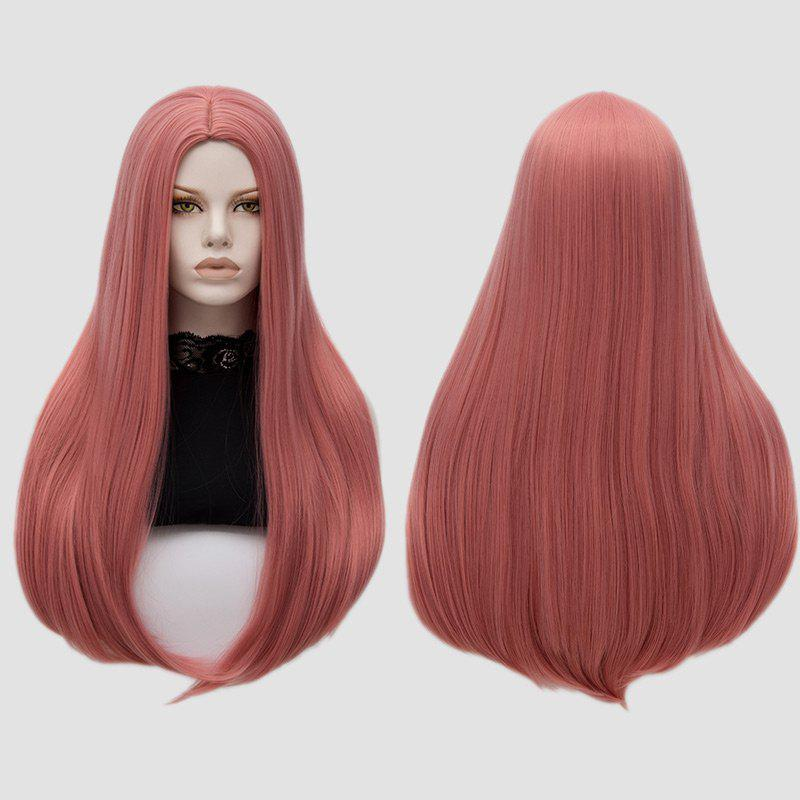 Long Center Part Straight Tail Adduction Cosplay Wig аксессуары для косплея cosplay wig cosplay cos cos