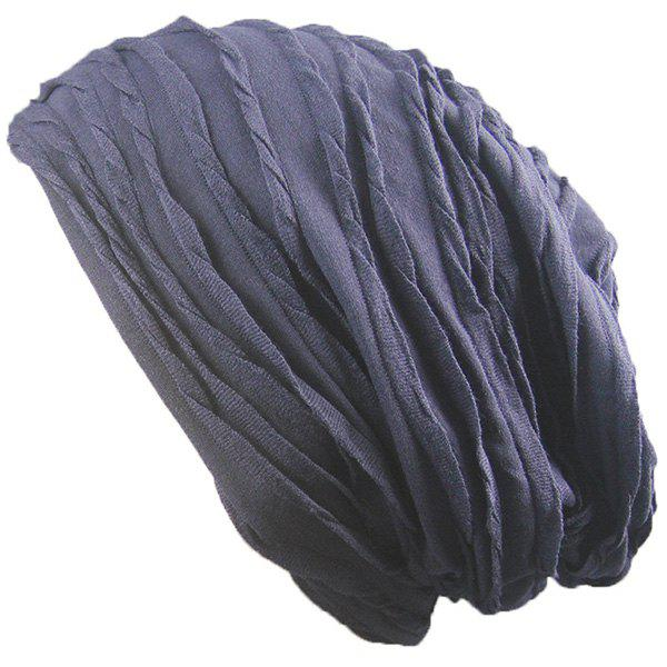 Knitting Folding Layered Warm Beanie triangle knitting fold warm beanie