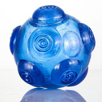 Pet Chomper Toy Dog Hollowed Thrower Ball - BLUE BLUE