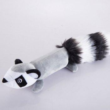 Big Tail Animal Plush Toy for Pet Dog - GRAY