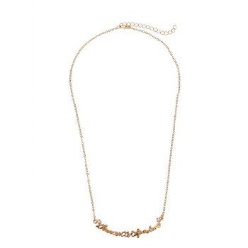 Nameplate Link Chain Necklace - GOLDEN GOLDEN