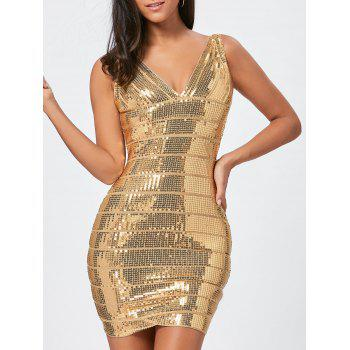 Glitter Sequins Bandage Dress