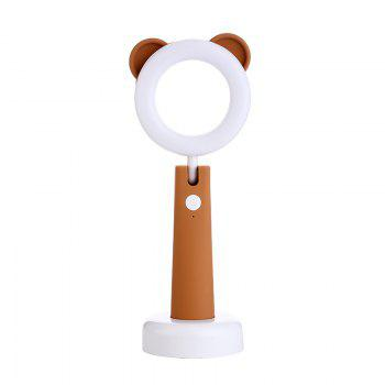 Stepless Adjusted Cartoon LED Desk Lamp - BROWN BROWN