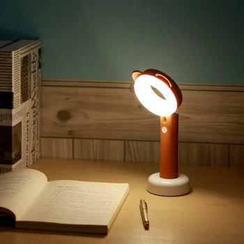 Stepless Adjusted Cartoon LED Desk Lamp -  BROWN
