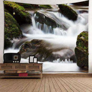 Torrent Creek Waterproof Wall Decor Hanging Tapestry - W71 INCH * L71 INCH W71 INCH * L71 INCH