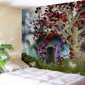 Dreamworld Scenery Hanging Wall Decor Tapestry - COLORMIX W59 INCH * L51 INCH