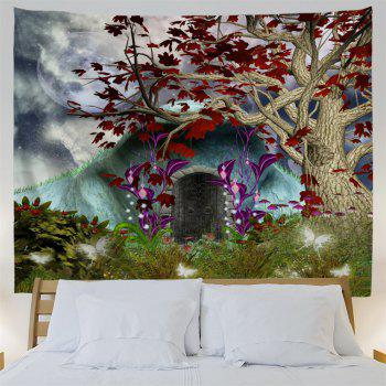 Dreamworld Scenery Hanging Wall Decor Tapestry - W59 INCH * L59 INCH W59 INCH * L59 INCH