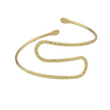 Metal Adjustable Arm Chain -  GOLDEN