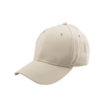 Letter Embellished Long Tail Baseball Cap -  KHAKI