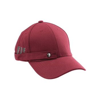 Tiny Rectangle Huit Diagrammes Casquette de baseball - Rouge vineux