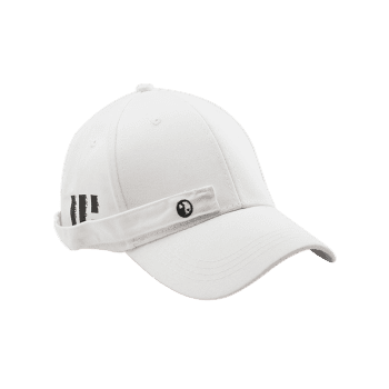 Tiny Rectangle Eight Diagrams Baseball Cap -  WHITE