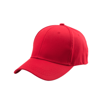 Letters Embroidery Back Baseball Cap - RED