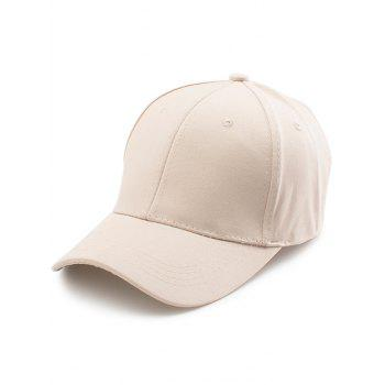 Letters Embroidery Back Baseball Cap
