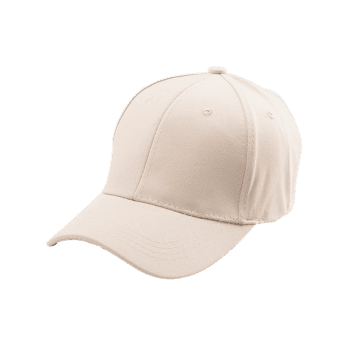 Letters Embroidery Back Baseball Cap - KHAKI