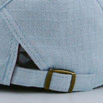 Nostalgic Plaid Flat Cap - LIGHT BLUE