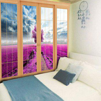Wall Hanging Window Scenery Bedroom Tapestry - W59 INCH * L51 INCH W59 INCH * L51 INCH