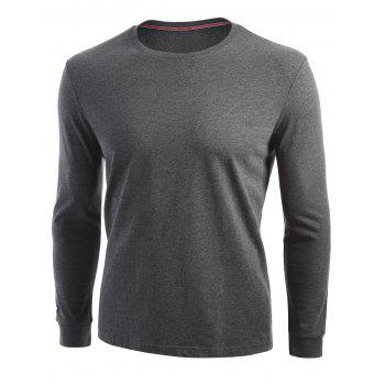 Stretch Long Sleeve T-shirt - M M