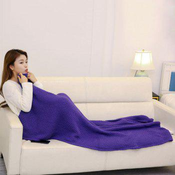 Handmade Crochet Bedding Sofa Throw Blanket - 80*96CM 80*96CM