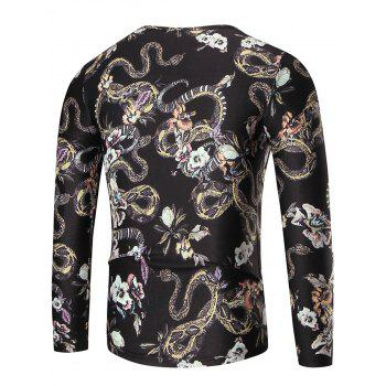 Boa Constrictor Long Sleeve T-shirt - 3XL 3XL