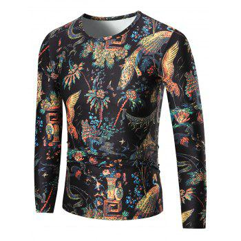 Bird of Wonder Long Sleeve T-shirt