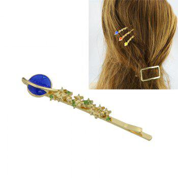 Star Shaped Decoration Hairpin - BLUE BLUE